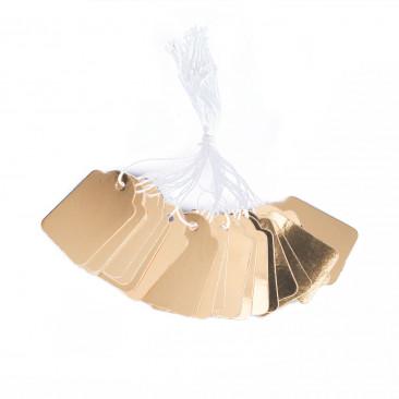 Tag Carta Metal  Oro