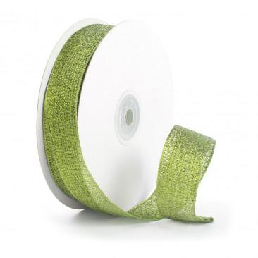 Nastro Lamè Animato Verde
