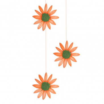 3 Fili Margherite Arancio