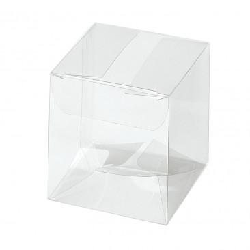 Scatola Pieghevole Cubo Pvc Trasparente