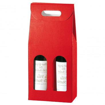 Scatole Portabottiglia Rosse Rosso