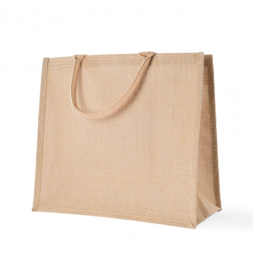Shopper Juta Manico in cotone Naturale
