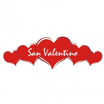 Scritta San Valentino