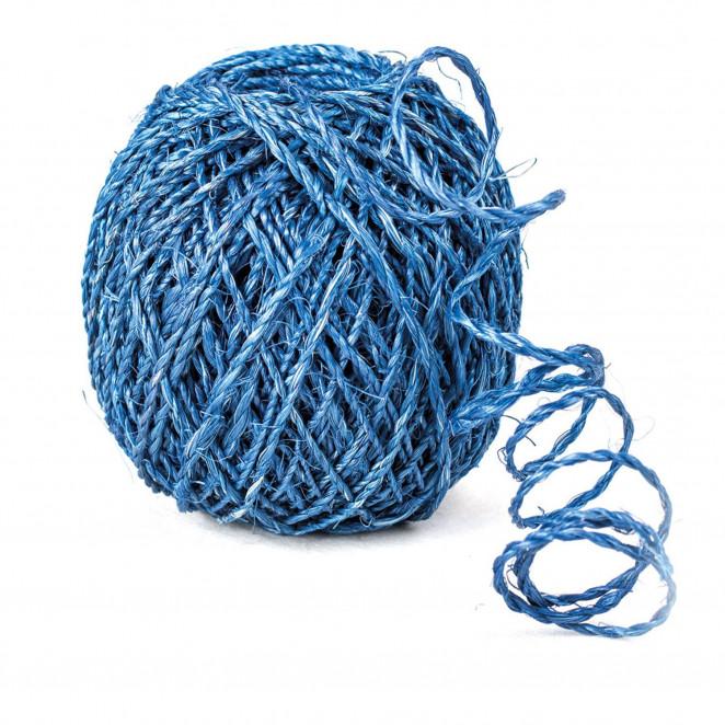 Spago Naturale Blu