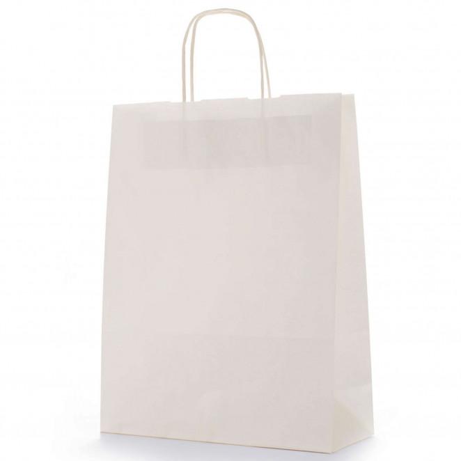 Shopper Carta Colorata Avorio