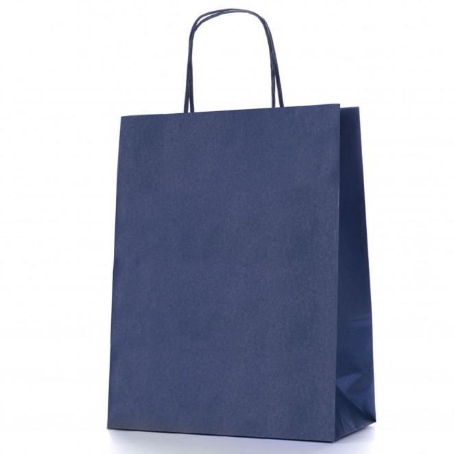 Shopper Carta Colorata Blu