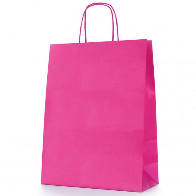 Shopper Carta Colorata Fucsia