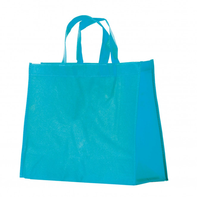 Shopper TNT Colorato Turchese